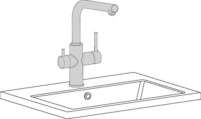 Grifos de cocina ca o flexible o extensible grifer a clever for Grifo dibujo